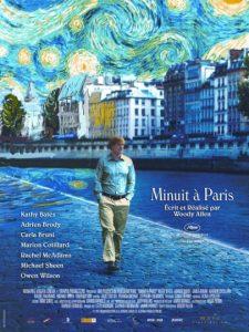 Tournage du film Minuit à Paris au Polidor