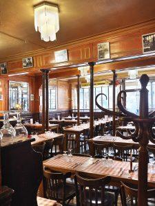 Salle du Polidor, restaurant pas cher et historique de Paris