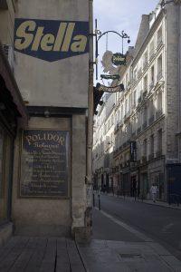 Extérieur du Polidor, restaurant pas cher et historique de Paris