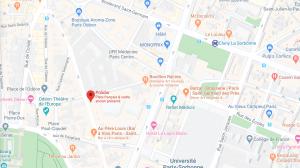 Plan Polidor Paris