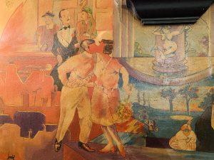 Le baiser total de Le baiser total de la fresque du Polidor de Christian Lefèvre en 1977