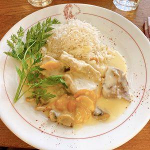 Blanquette de veau du Polidor, restaurant pas cher Paris